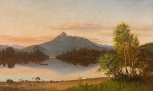 Mount Chocorua and Lake from Tamworth by N. T. Johnson