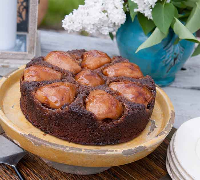 Emmy's Pear and Fresh Ginger Cake