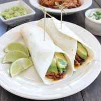 Slow Cooker Pulled Pork Tenderloin Tacos and Sliders