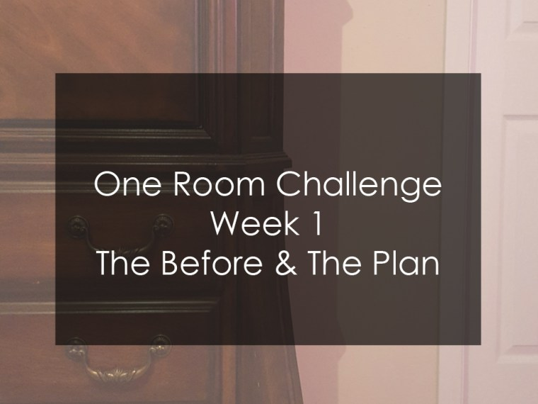 one room challenge before photos