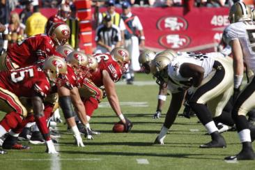 Saints vs. Niners