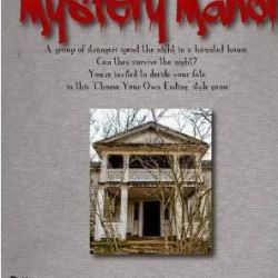 Downloadable, editable invitation for the Mystery Manor game from Whodunnitmysteries.com