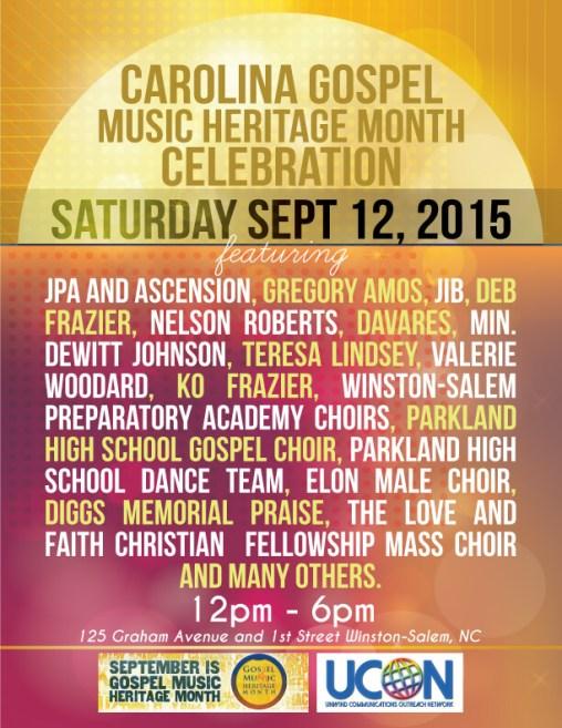 Carolina-Gospel-Music-Heritage-Month-Celebration-flyer