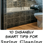 10 Insanely Smart Tips for Spring Cleaning Your Bathroom