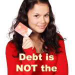 Your Debt is NOT the Problem + WholeHearted Wednesday #177