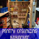 Pantry Organizing Makeover