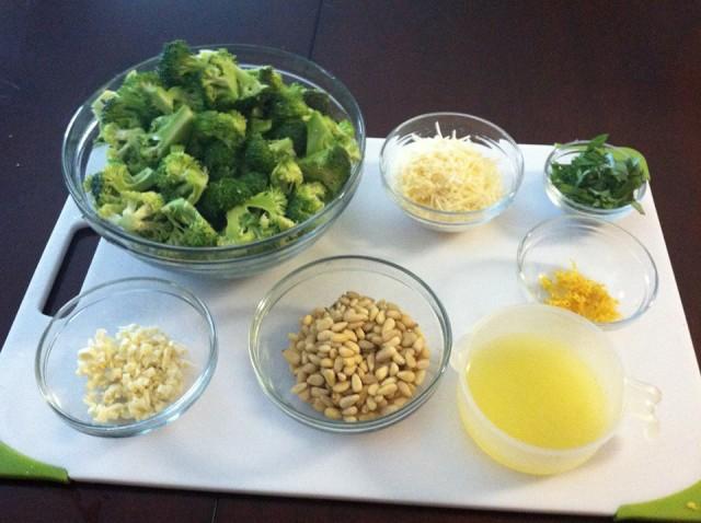 Broccoli and Asparagus Prep