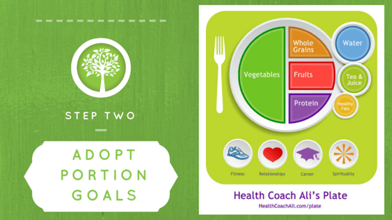 Step Two Adopt Portion Goals