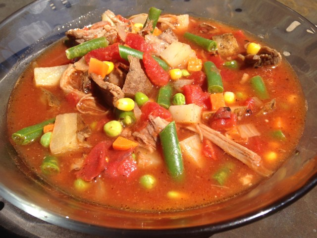 EasyVegetable Beef Soup