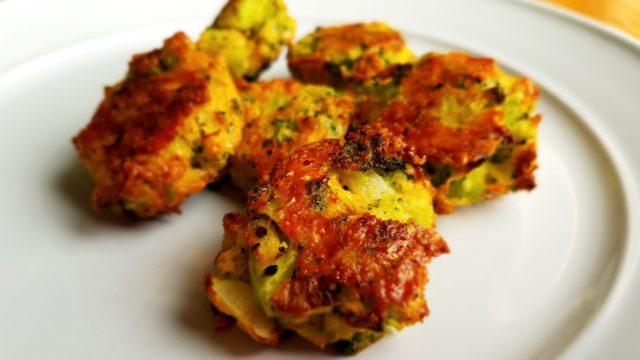 Crispy Baked Veggie Tots