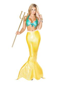 Peaceably Size Adults Mermaid Halloween Costume New Arrival Sexy Mystical Mermaid Costume Womens Costumes 2018 Wholesale Mermaid Halloween Costume