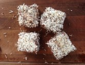 Sugar-free Lamingtons