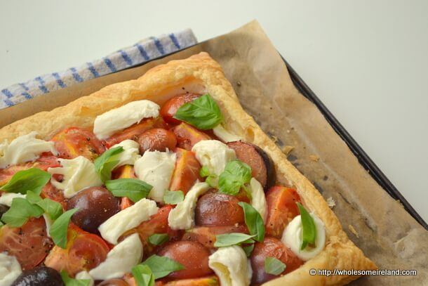 Irish Tomato Tart -Wholesome Ireland