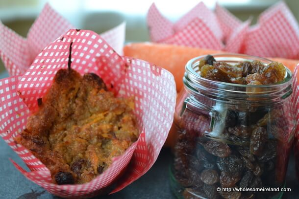 Healthy Carrot Muffins - Wholesome Ireland - Food & Parenting Blog