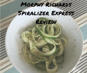 Morphy Richards Spiralizer Express Review(1)