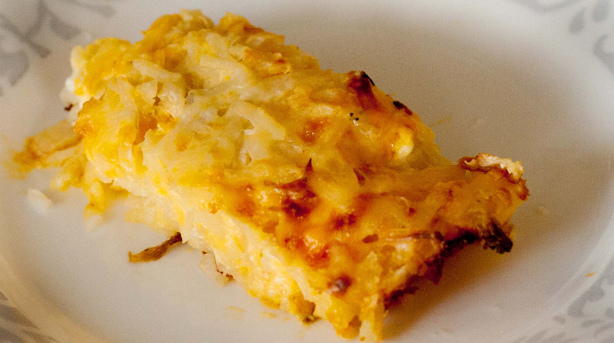 Take-out Fake-out: Cracker Barrel's Hash Brown Casserole