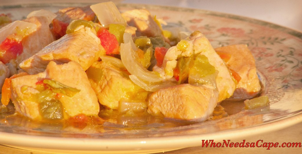 Crockpot Green Chile Pork Stew - Who Needs A Cape?