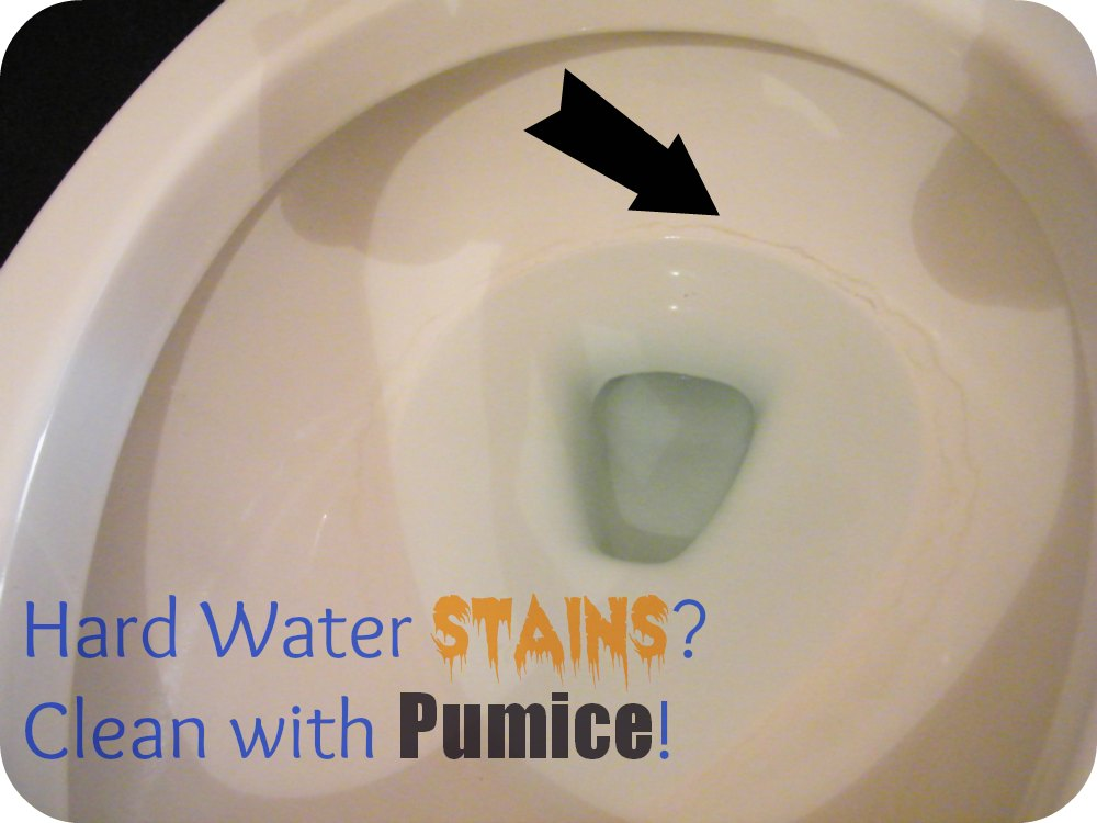 Flush hard water stains down the toilet - Bathroom cleaner for hard water stains ...