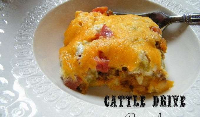Throw Back Thursday ~ Cattle Drive Casserole