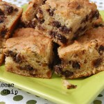 Cream Cheese Chocolate Chip Bars