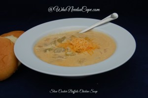 Slow Cooker Buffalo Chicken Soup 2