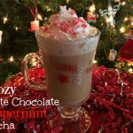 Boozy White Chocolate Peppermint Mocha