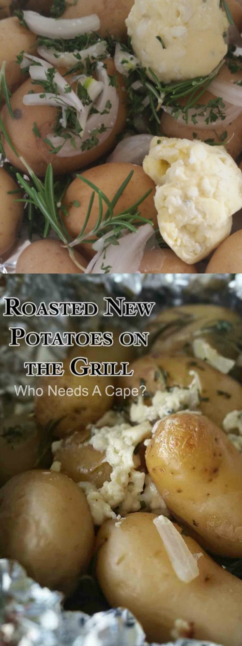 Roasted Potatoes On The Grill Recipe — Dishmaps