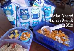 Make Ahead Lunch Snack Mix | Who Needs A Cape?