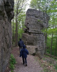 Hiking at High Cliff State Park