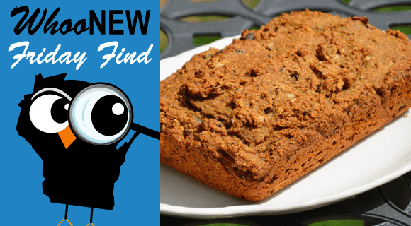 WhooNEW Friday Find Zucchini Bread