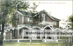 First American Kindergarten in the Schruz Family Home - Watertown Wisconsin