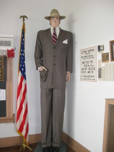 The World's Tallest Man Exhibit, Rugby North Dakota
