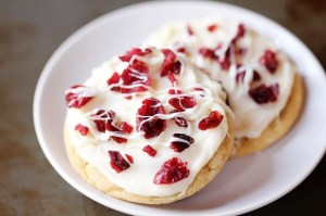 cranberry bliss cookies - Gimme some oven