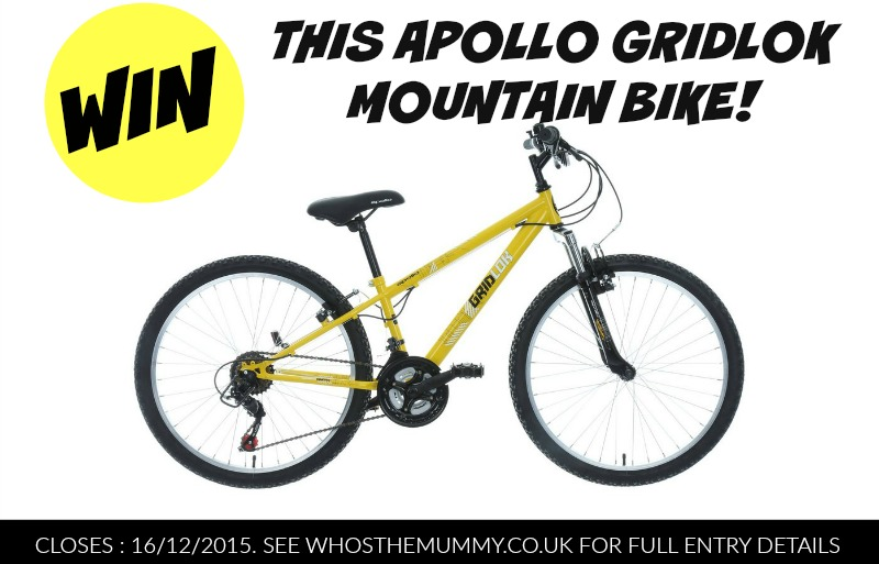 Win a Brand New Kids' Bike this Christmas with Halfords!