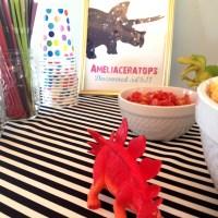It's a Girl's Dinosaur Birthday Party - RAWR!