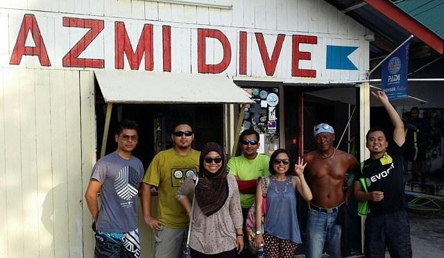 Finally! #BeADiver #AzmiDive