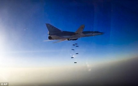 The Russian defence ministry has said its warplanes have flown their first combat mission in Syria with US-led coalition aircraft