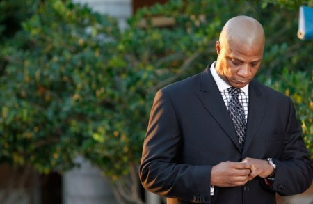 (Photo: Reuters/Andrew Innerarity) Darryl Strawberry waits to speak to the media about Gary Carter at the Gary Carter Memorial Tribute in Palm Beach Gardens, Florida February 24, 2012. The event for the Major League Baseball Hall of Fame Player whose career included stints with the New York Mets and Montreal Expos was held at the Christ Fellowship. He was aged 57.