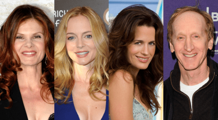 (FROM LEFT TO RIGHT) Lolita Davidovich, Heather Graham, Elizabeth Reaser & Larry Cedar