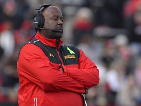 Mike Locksley is wide receivers coach and co-offensive coordinator at Alabama. (Photo: Tommy Gilligan, USA TODAY Sports)