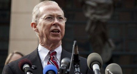 Dana Boente is best known for his brief stint as acting attorney general after President Donald Trump fired acting attorney general Sally Yates. | Evan Vucci/AP Photo