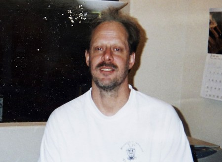 This undated photo provided by Eric Paddock shows his brother, Las Vegas gunman Stephen Paddock. Stephen Paddock opened fire on the Route 91 Harvest Festival on Sunday, Oct. 1, 2017, killing dozens and wounding hundreds. (Courtesy of Eric Paddock via AP)