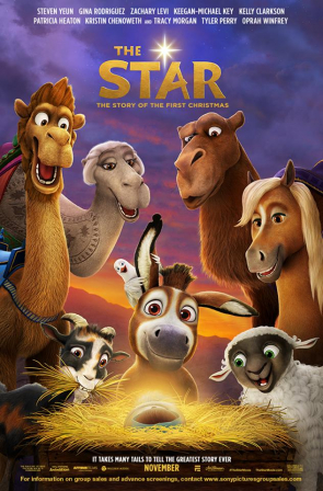 "(PHOTO: FACEBOOK/THESTARMOVIE)""The Star"" hits theaters nationwide Nov 17, 2017."