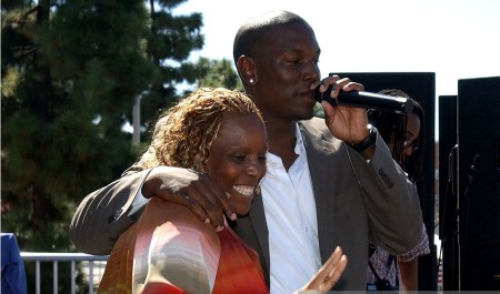 Tyrese Gibson and his mother Priscilla