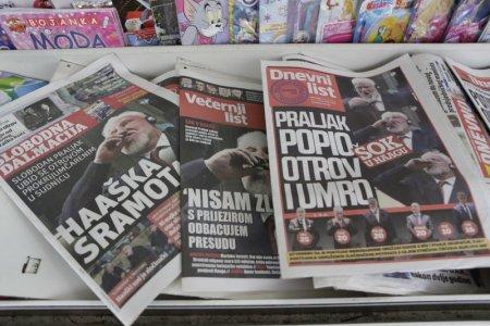 Bosnian war, croatia, International Criminal Tribunal, netherlands, Slobodan Praljak, united nations, yugoslavia