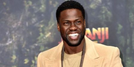 """Celebrities attend the """"Jumanji: Welcome to the Jungle"""" Premiere held at CineStar Sony Center in Berlin, Germany. Pictured: Kevin Hart BACKGRID USA 6 DECEMBER 2017"""