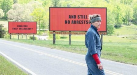 """Actress Frances McDormand in a scene from """"Three Billboards Outside Ebbing, Missouri."""" (Fox Searchlight)"""