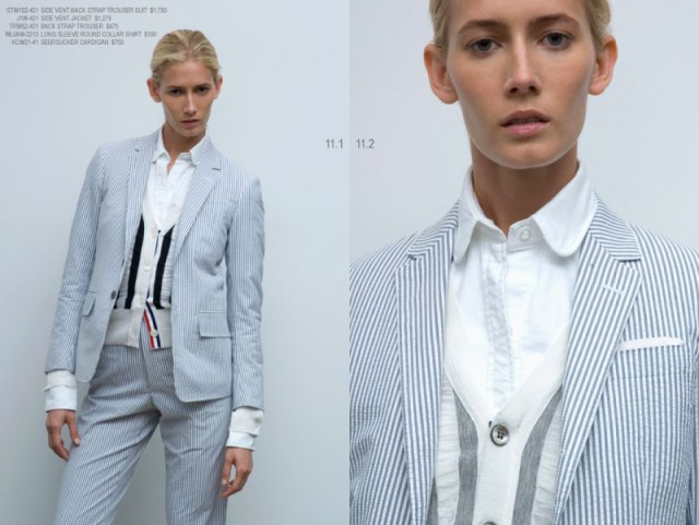10 standardpricing 12 Thom Browne Women Spring/Summer 2008