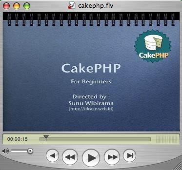 CakePHPvideo