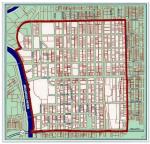 Wichita downtown self-supporting municipal improvement district (SSMID) boundary map